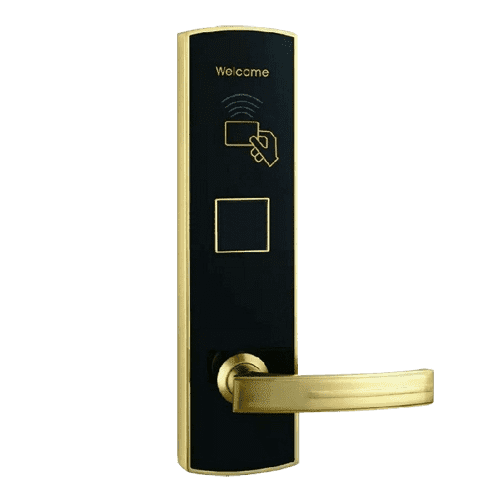 Hotel Lock Black Gold