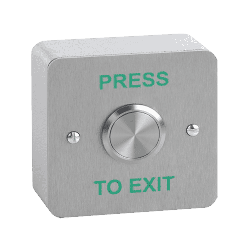 Outdoor Stainless Exit Button